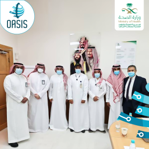 "Operating the first government hospital in the Kingdom with the ""OASIS Plus"