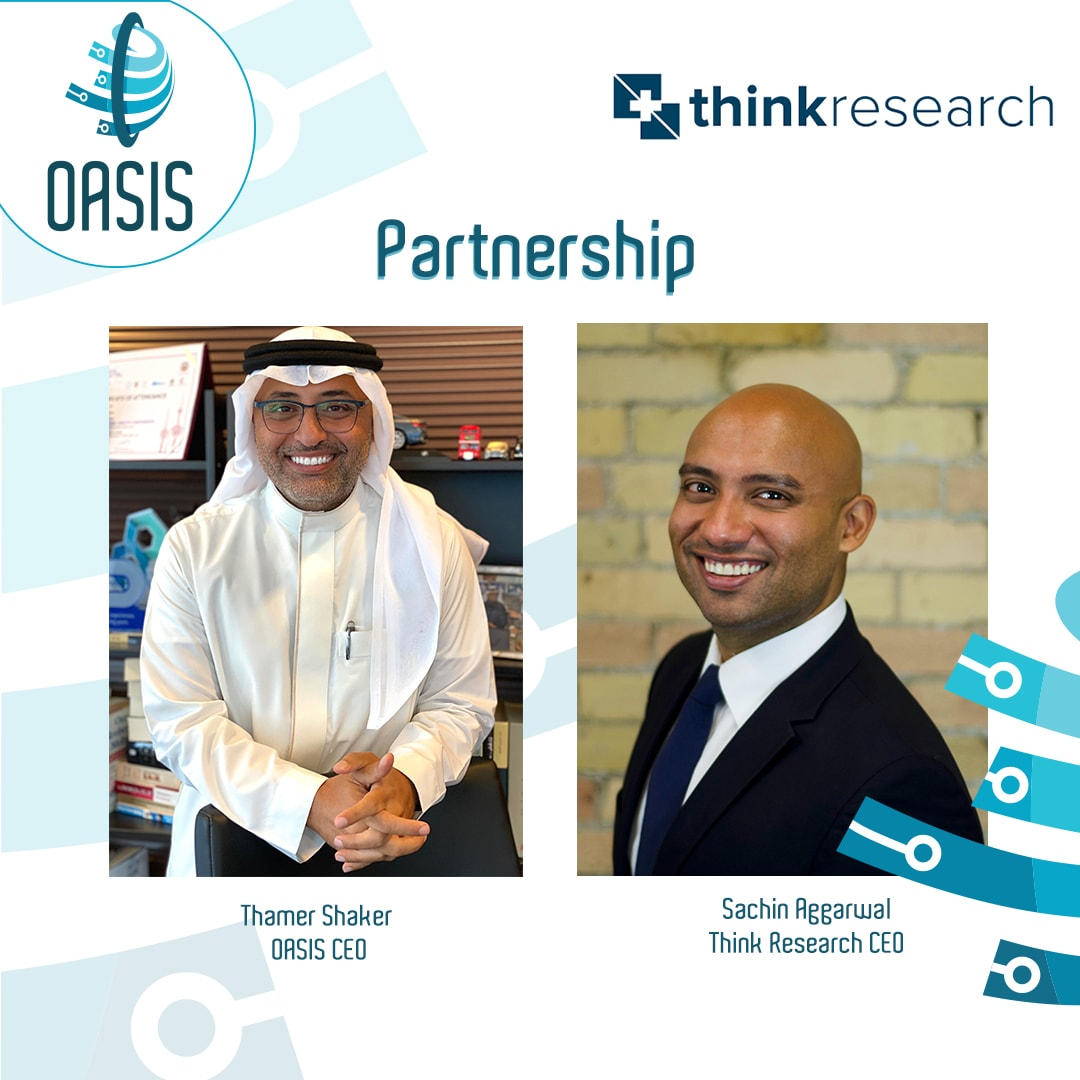 "Completion of the cooperation contract between ""Think Research"" and OASIS"
